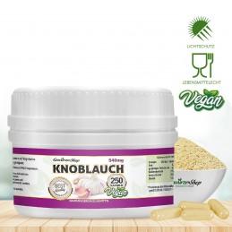 Knoblauch Kapseln - 100% Vegan - 250 Stk.