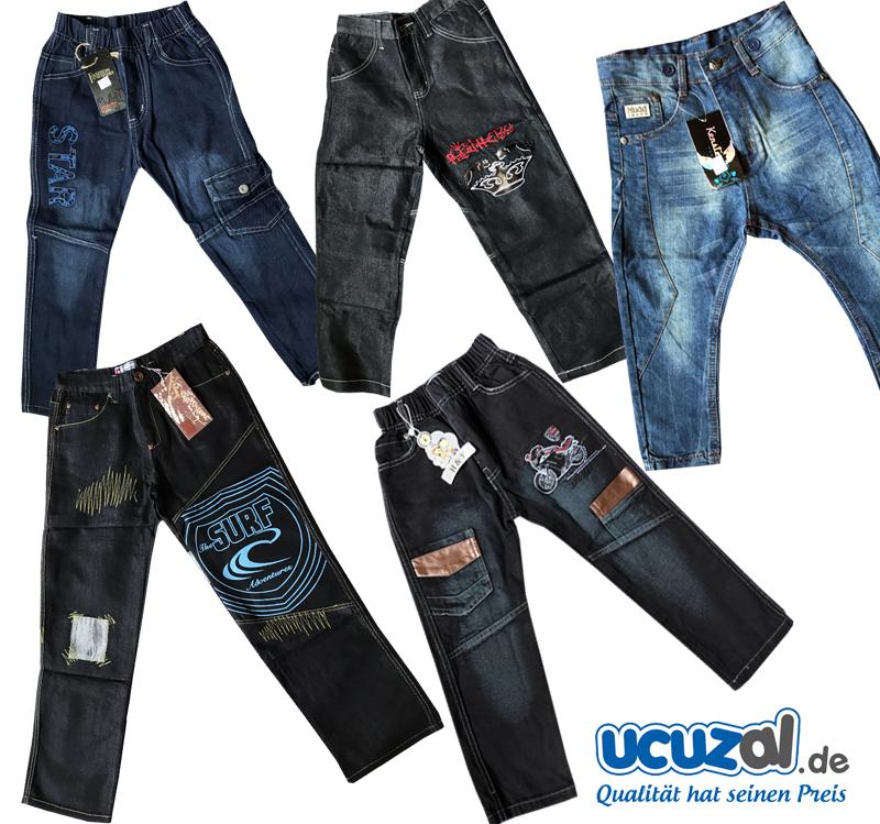 Kinder Hosen - Jeans Hose - Kinder Jungen Mädchen 2 bis 16 Jahre ...